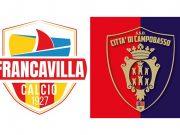 Dovrà essere rigiocata la gara tra Francavilla e Campobasso