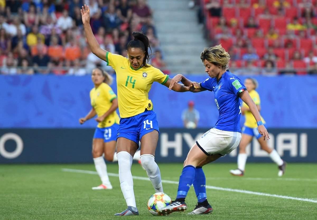 Mondiale femminile: il Brasile vince 1-0 ma l'Italia è prima nel girone