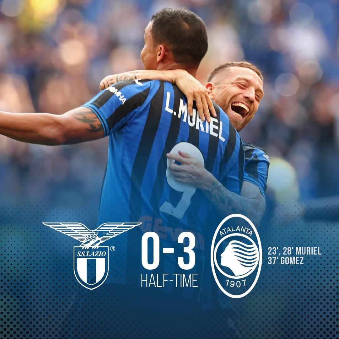 Serie A, Lazio-Atalanta 3-3: partita pazzesca all'Olimpico