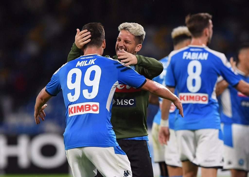Serie A, Napoli-Verona 2-0, decide tutto Arek Milik
