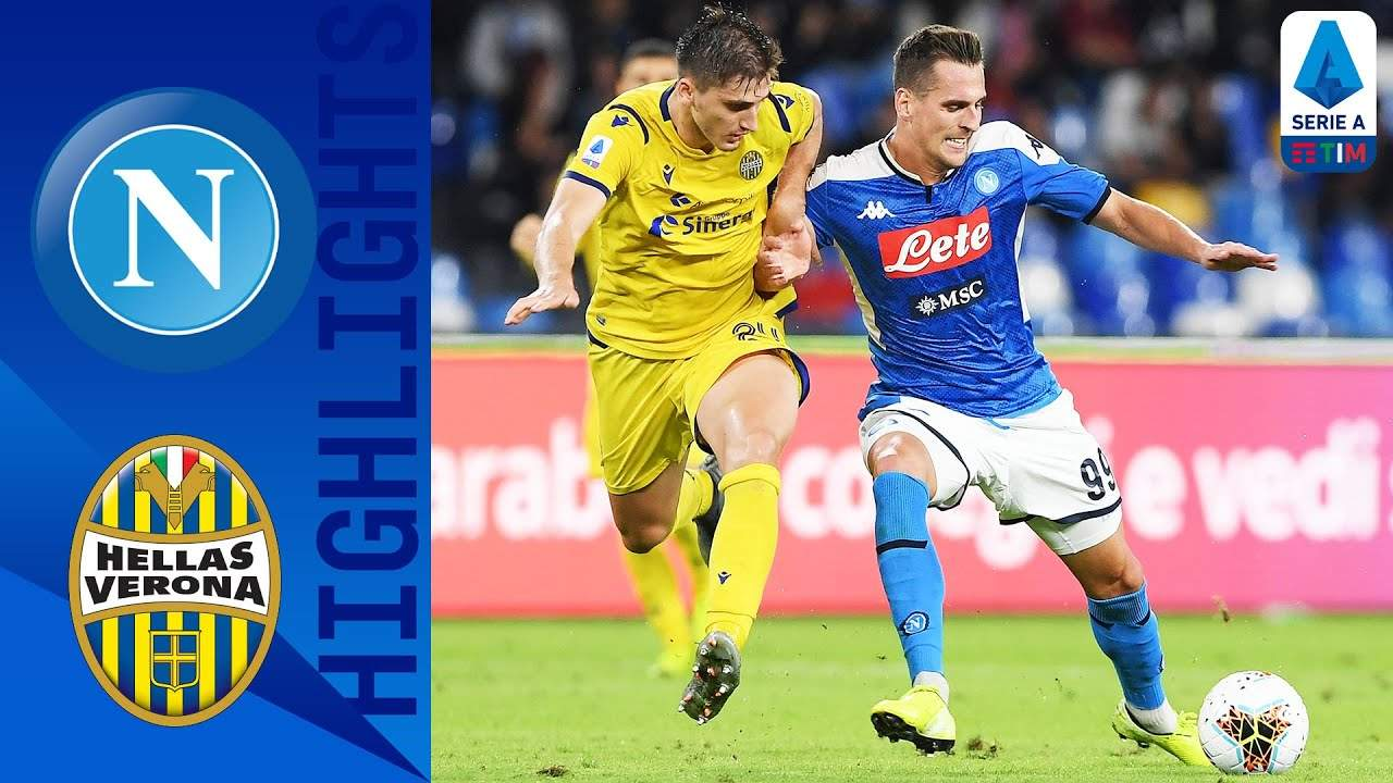Serie A, Napoli-Verona 2-0 [highlights]
