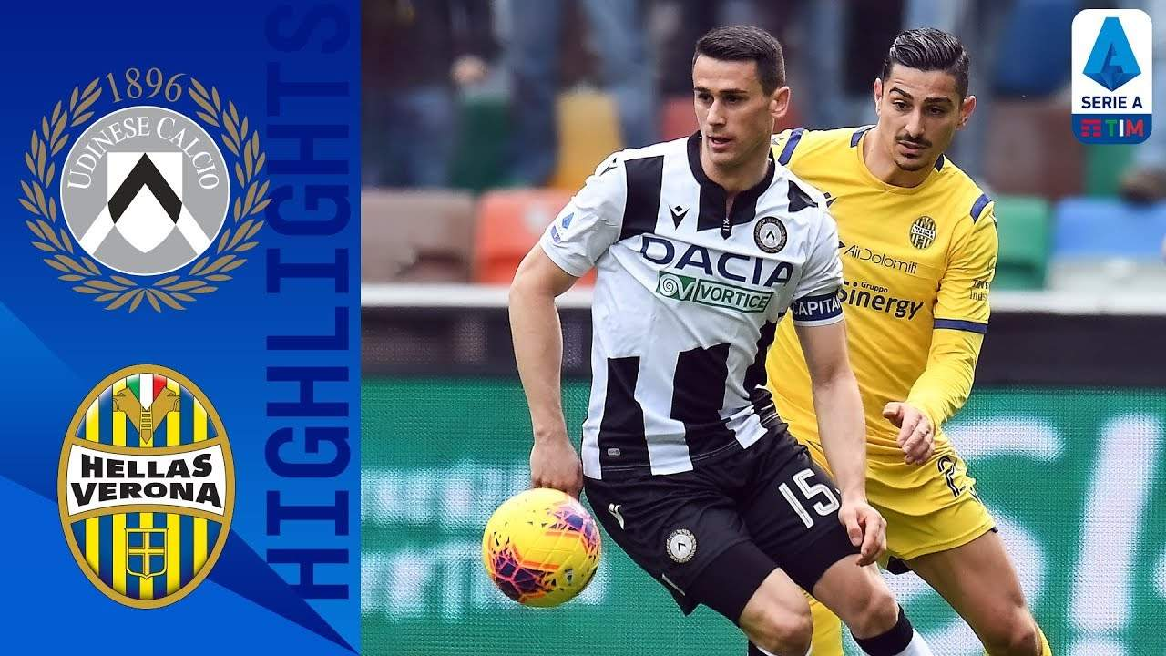 Serie A, Udinese-Verona 0-0 [highlights]
