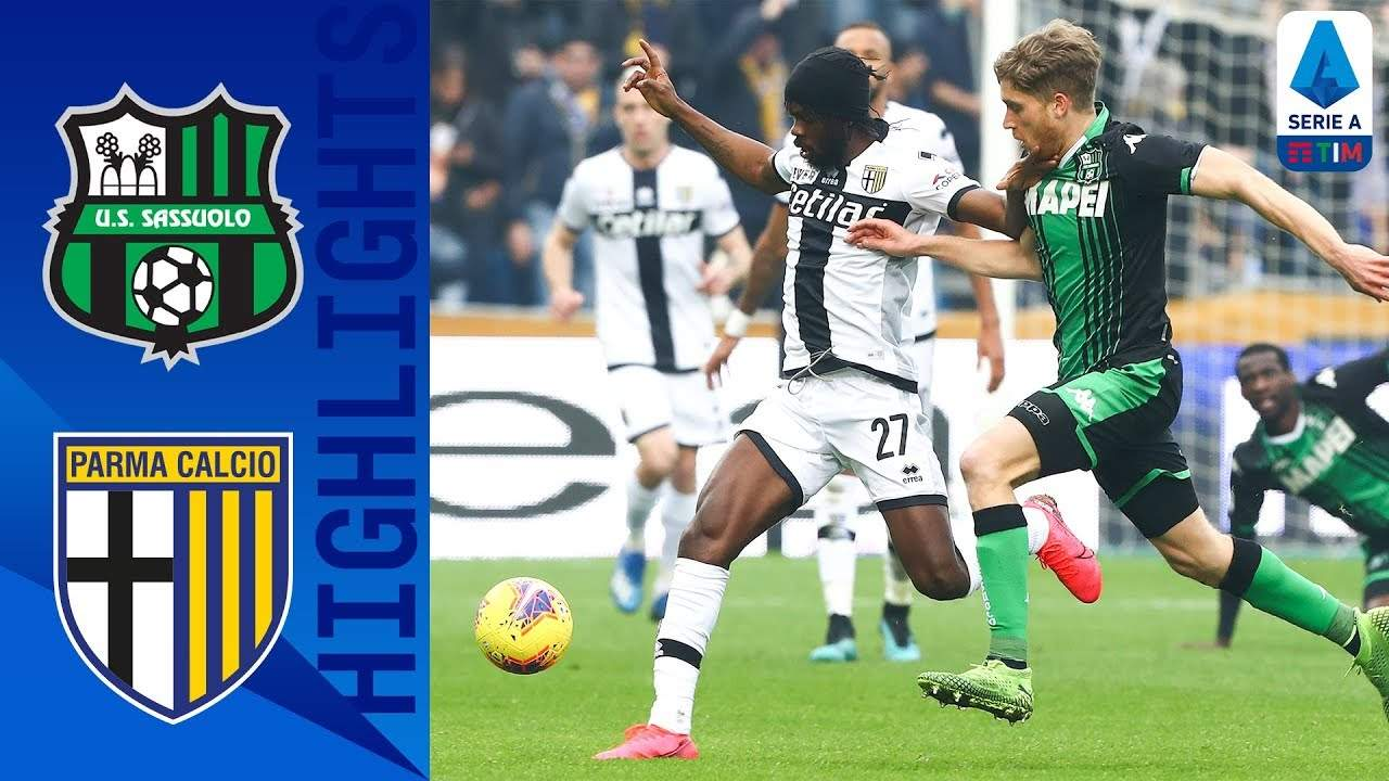 Serie A, Sassuolo-Parma 0-1 [highlights]