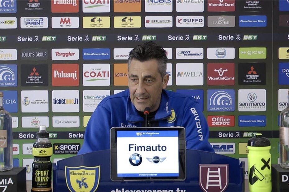 Aglietti in conferenza stampa