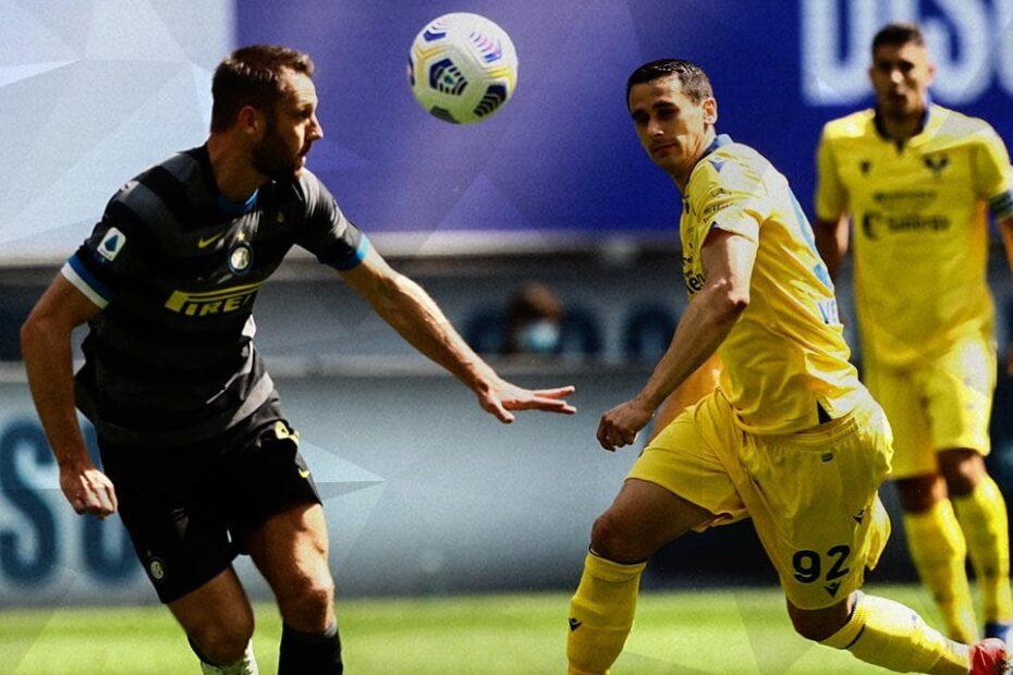 Lasagna contro De Vrij in Inter-Verona