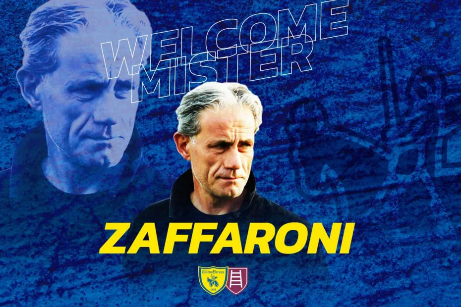 Chievo: annunciato Zaffaroni come nuovo tecnico