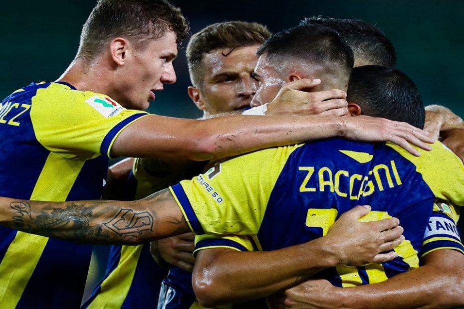 Coppa Italia: il Verona stende il Catanzaro