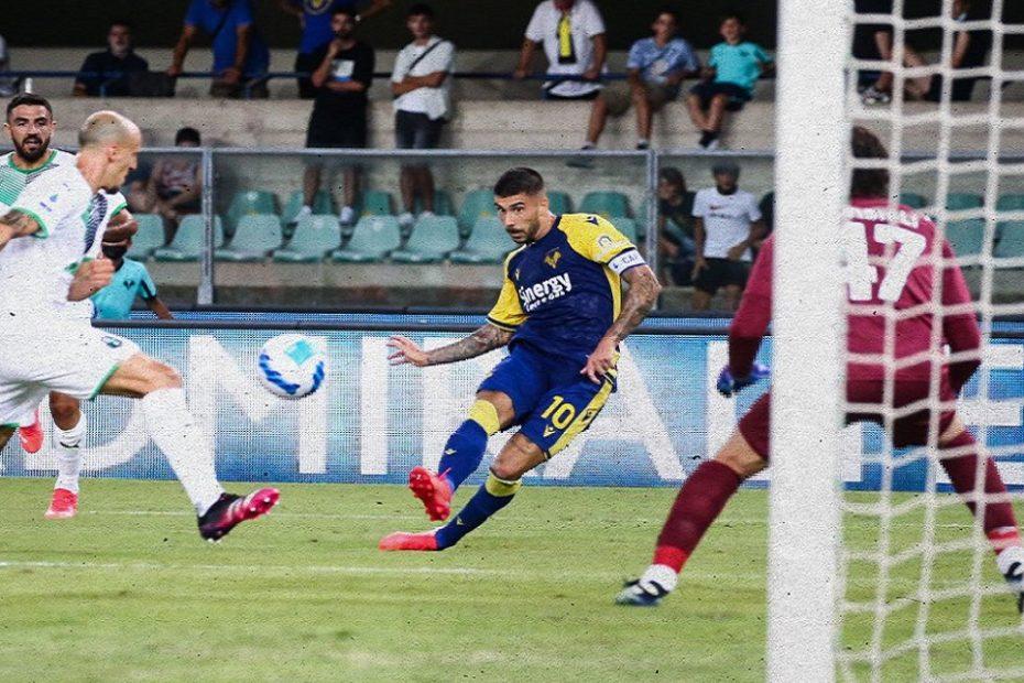 Alla prima di Serie A il Verona cade in casa col Sassuolo