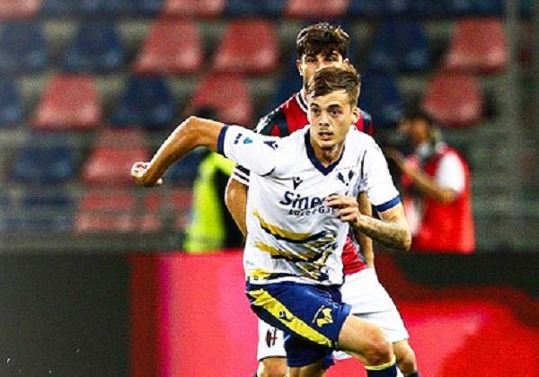Il Verona cade a Bologna nella terza di Serie A
