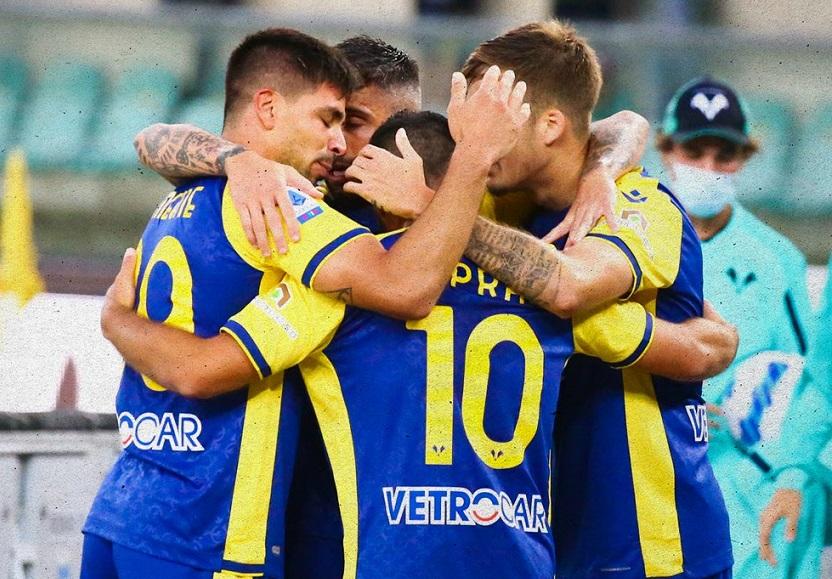 Il Verona piega la Roma nel quarto turno di Serie A