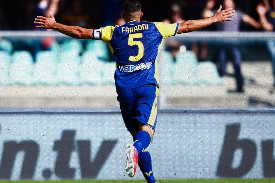 il Verona travolge lo Spezia nella settima di Serie A