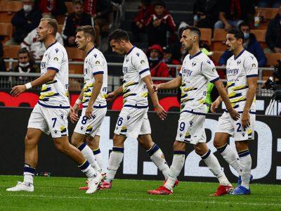 Serie A: il Verona sciupa il doppio vantaggio e il Milan rimonta